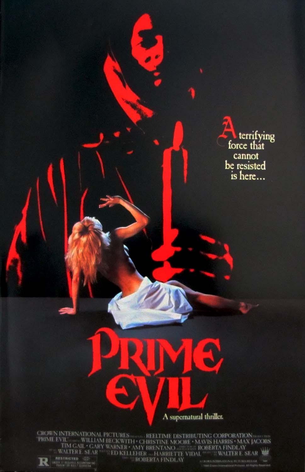 18+Prime Evil 1988 English 720p HDRip 900MB | 500MB Download