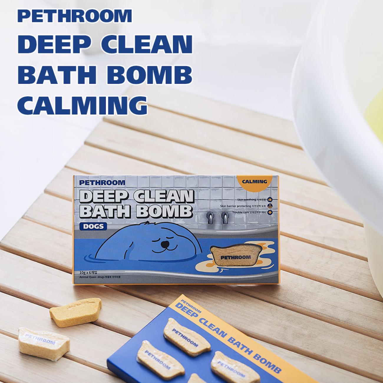 ShiPAPA PethRoom 深層清潔鎮靜浴球 韓國直送🇰🇷 香港 澳門