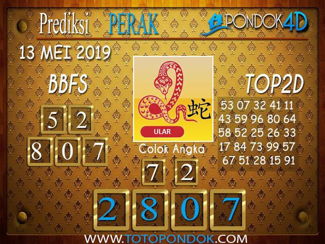 Prediksi Togel PERAK PONDOK4D 13 MEI 2019