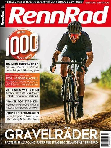 Cover: Rennrad Magazin No 10 Oktober 2021