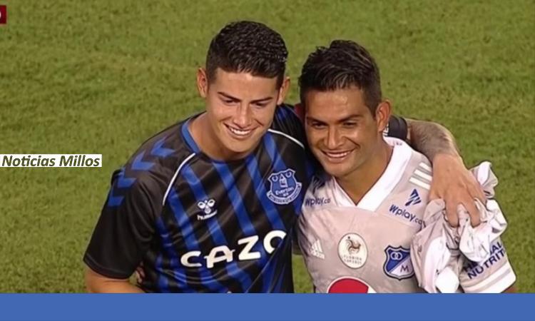James Rodriguez Millonarios