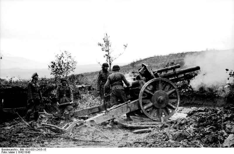105 mm light field howitzer arr. 18