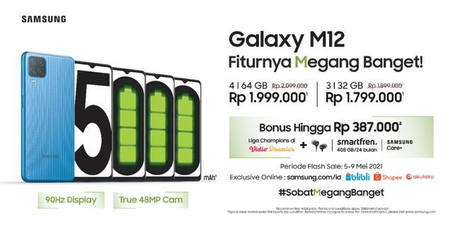 Flash-Sale-Samsung-Galaxy-M12