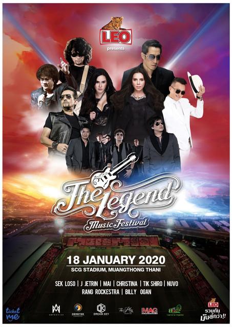 Leo Presents - The Legend Music Festival 2020 - รวมพลเด็กยุค 90's