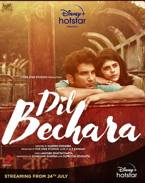 Dil Bechara 2020 Hindi Official Trailer 720p HDRip Download