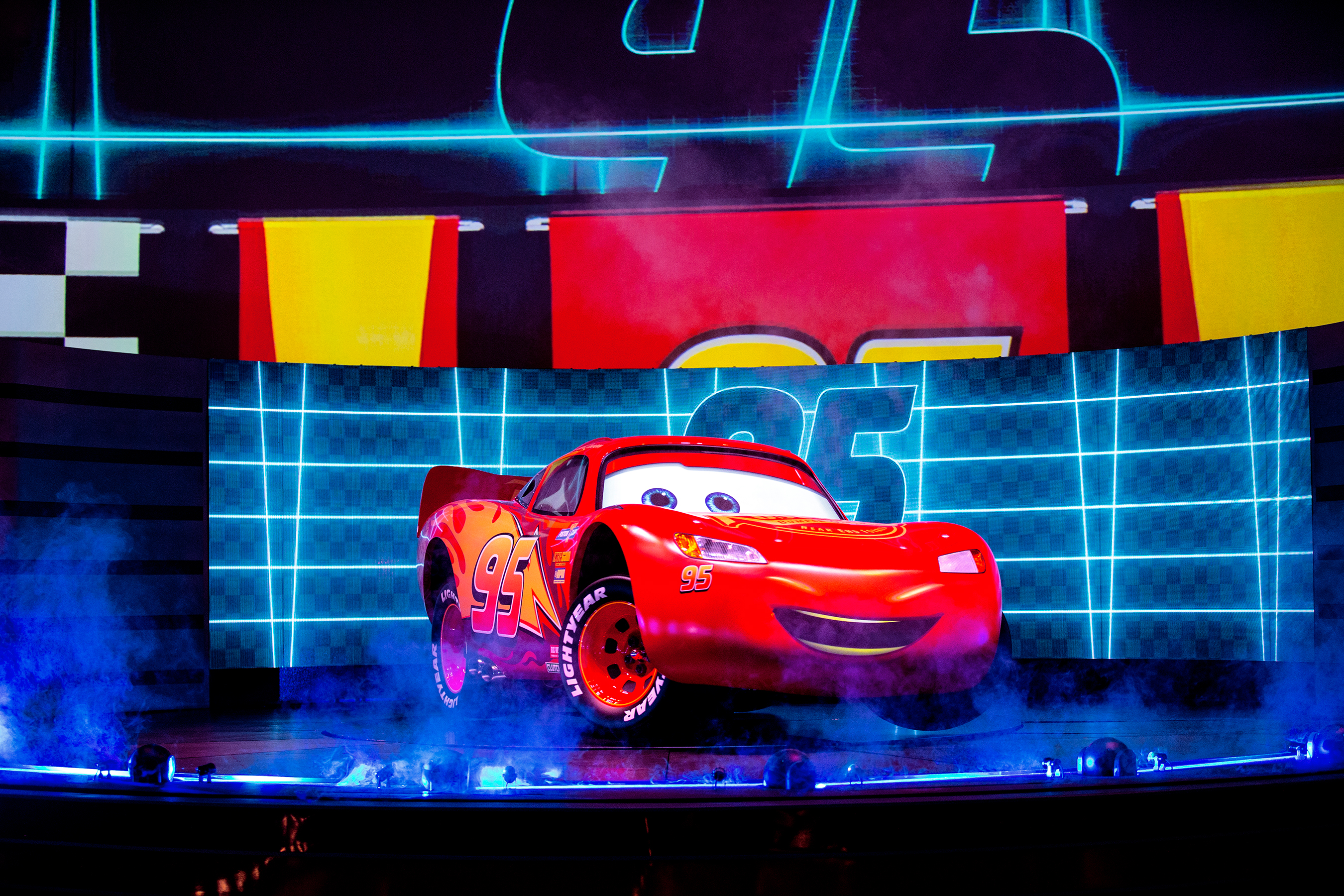Lightning McQueen Racing Acadamey at Walt Disney World