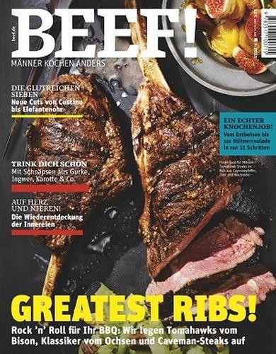 Cover: Beef Magazin für Männer mit Geschmack No 05 2021
