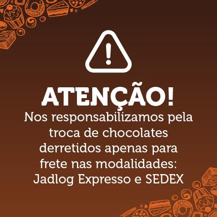 Pouop de informação dos chocolates