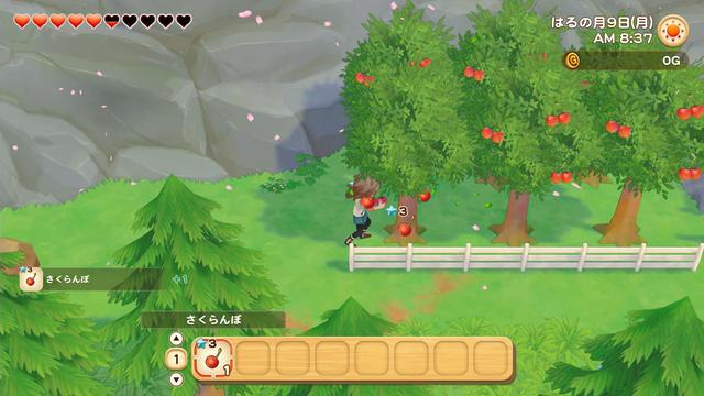「牧場物語」系列首次在Nintendo SwitchTM平台推出全新製作的作品!  『牧場物語 橄欖鎮與希望的大地』 於今日2月25日(四)發售 034