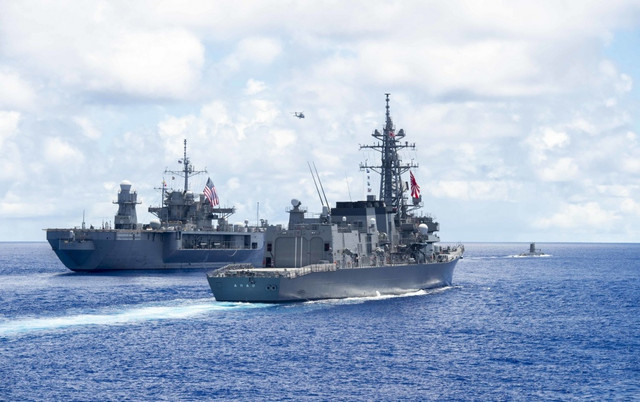 pacific-vanguard-exercise-may-2019-Uss-Blue-Ridge-LCC19-Command-ship