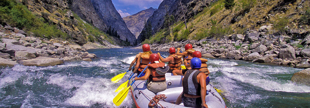 Idaho River Rafting With Two Big Rapid Rivers
