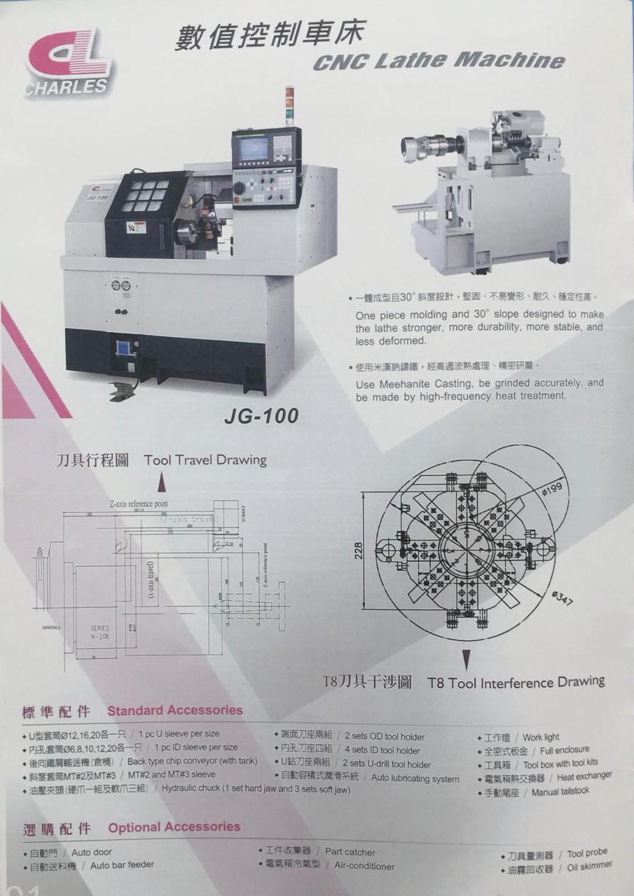 cnc jg 100
