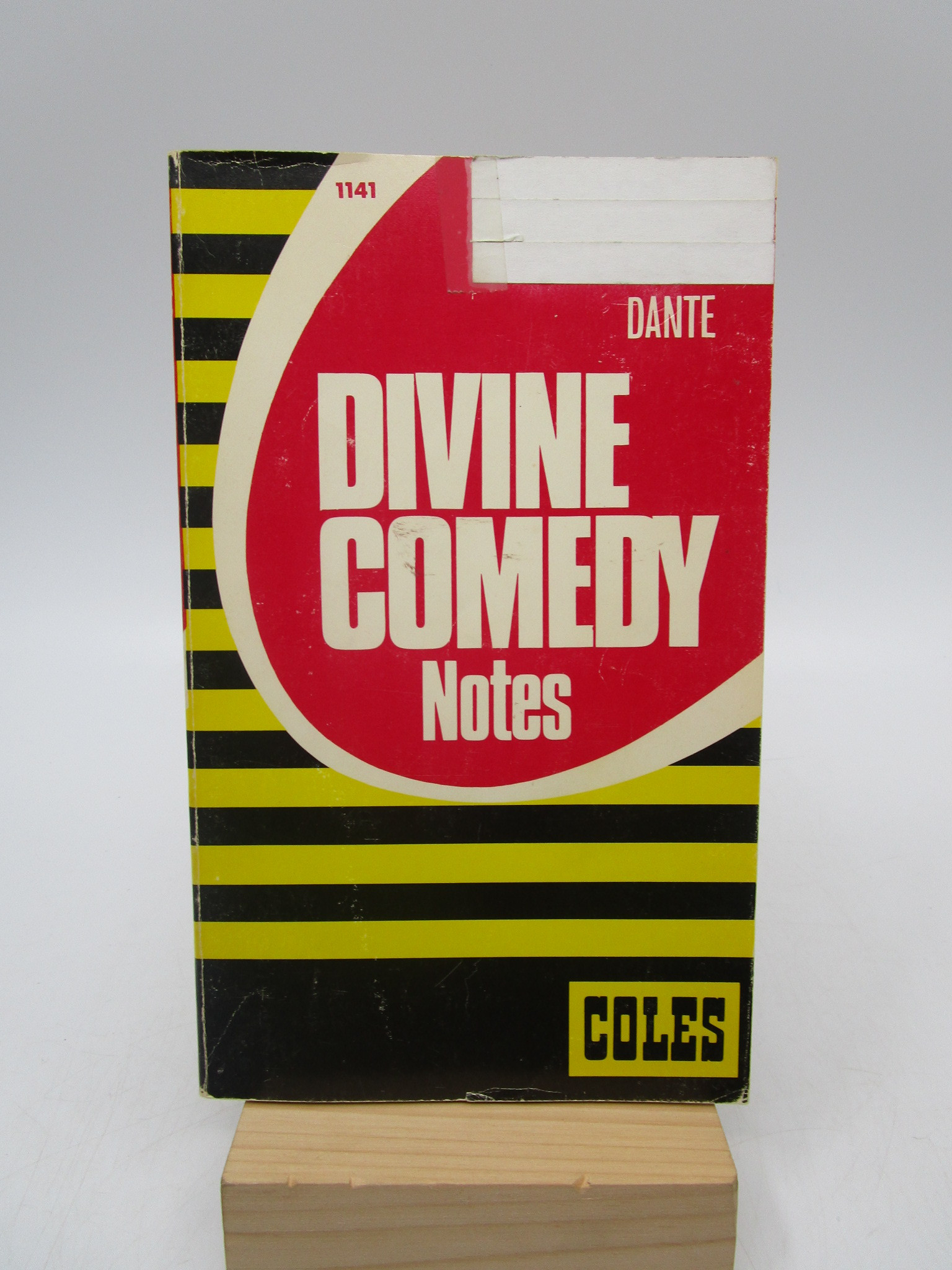 Image for Divine Comedy Notes (Coles Notes Revised Key Edition)