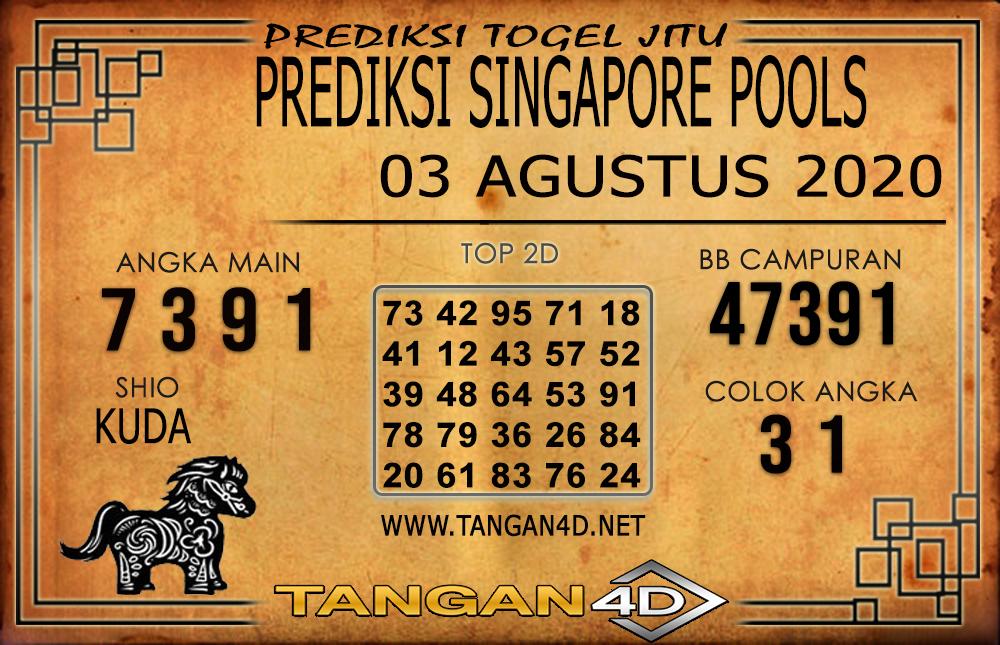 PREDIKSI TOGEL SINGAPORE TANGAN4D 03 AGUSTUS 2020