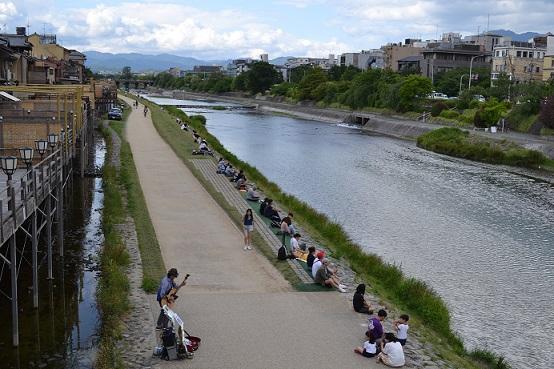 Kamo-gawa-river