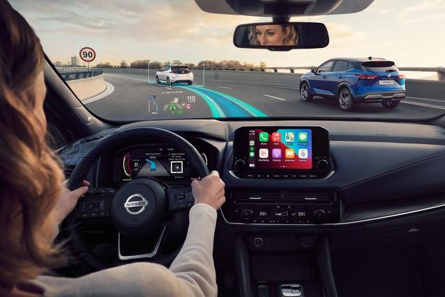 Nouveau Nissan QASHQAI : Connectivité Et Technologies De Pointe All-New-Nissan-Qashqai-Premiere-Edition-HUD-2