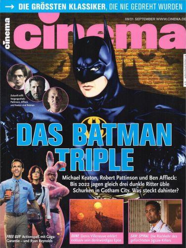 Cover: Cinema Magazin No 09 September 2021