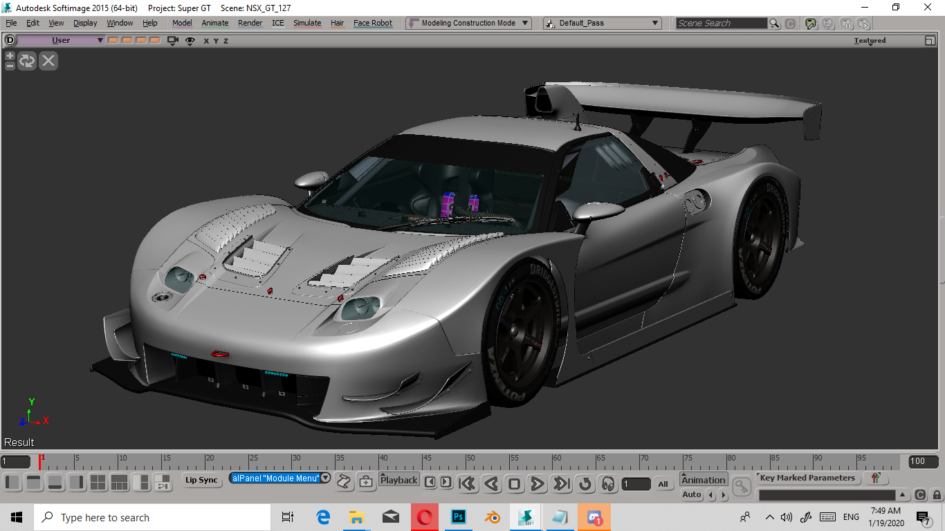 2005-2006 Super GT GT500 Series Mod Project NSX