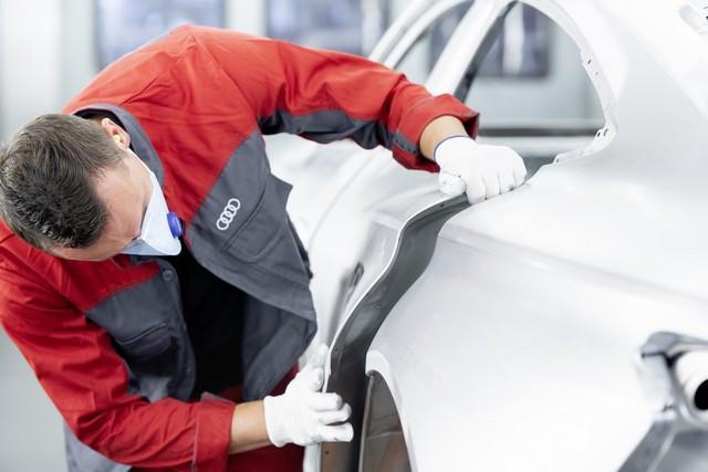 L'Audi e-tron GT entre en production : la production neutre en carbone commence à l'usine de Böllinger Höfe A209025-medium