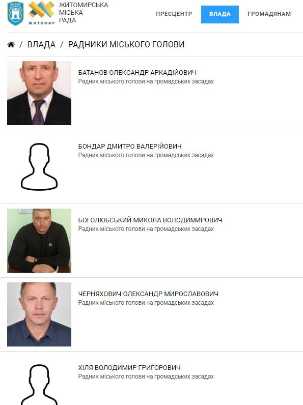 radnek - Мер Житомира припинив повноваження одного з радників