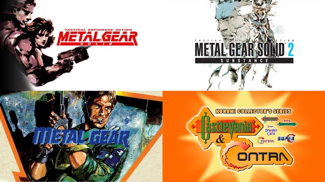 MSX原版《合金裝備》(Metal Gear)、《潛龍諜影》《潛龍諜影 2 真實之影》《科納米收藏集 魂斗羅與惡魔城》現已在GOG平台推出。 Image