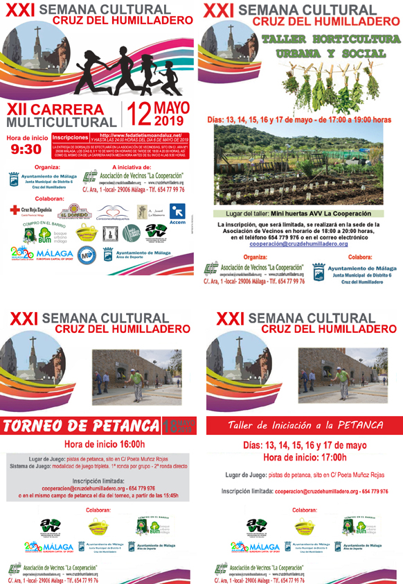 XXI Semana Cultural Cruz del Humilladero 2019