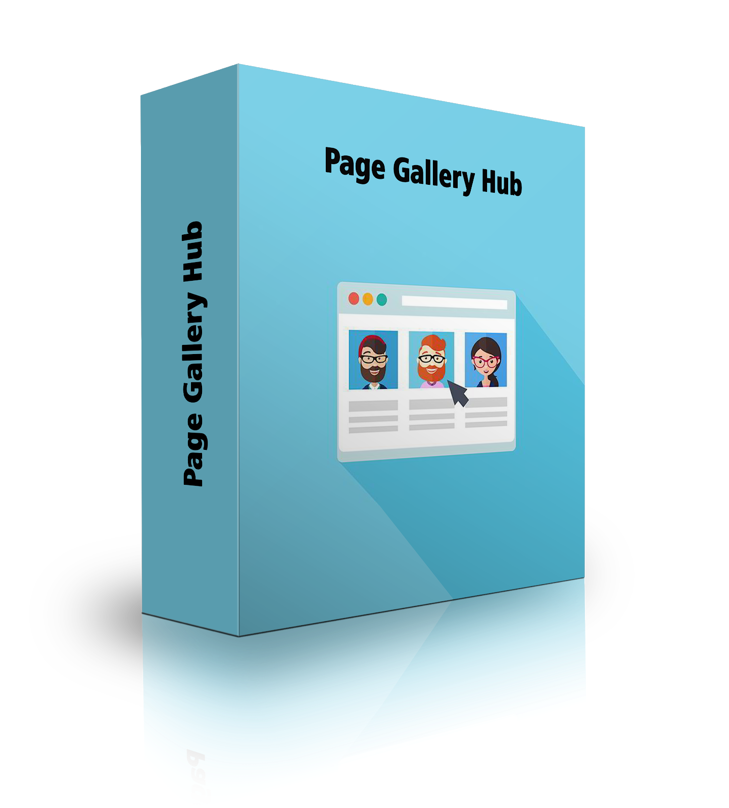 Page Gallery Hub