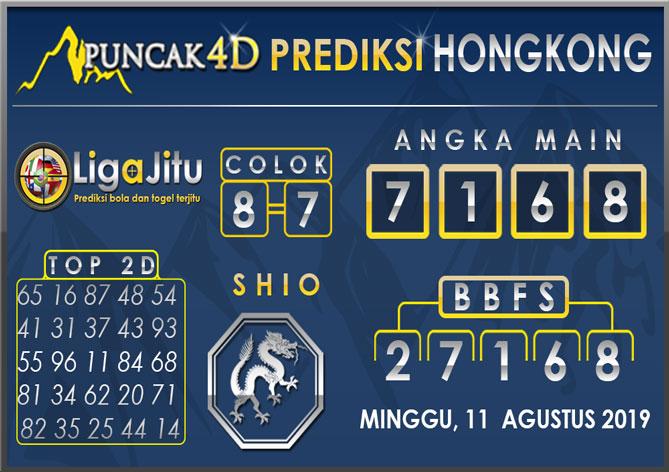 PREDIKSI TOGEL HONGKONG PUNCAK4D 11 AGUSTUS 2019
