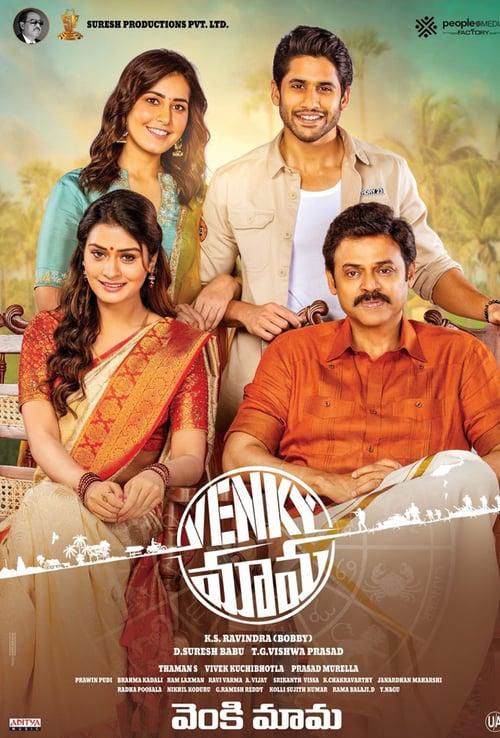 Venky Mama 2021 Hindi Dubbed 720p HDRip 1GB Download