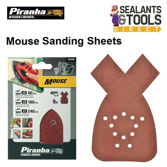 Black-and-decker-X31024-Mouse-sander-sheets