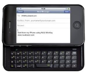Nuu Mini Key Bluetooth Keyboard Case