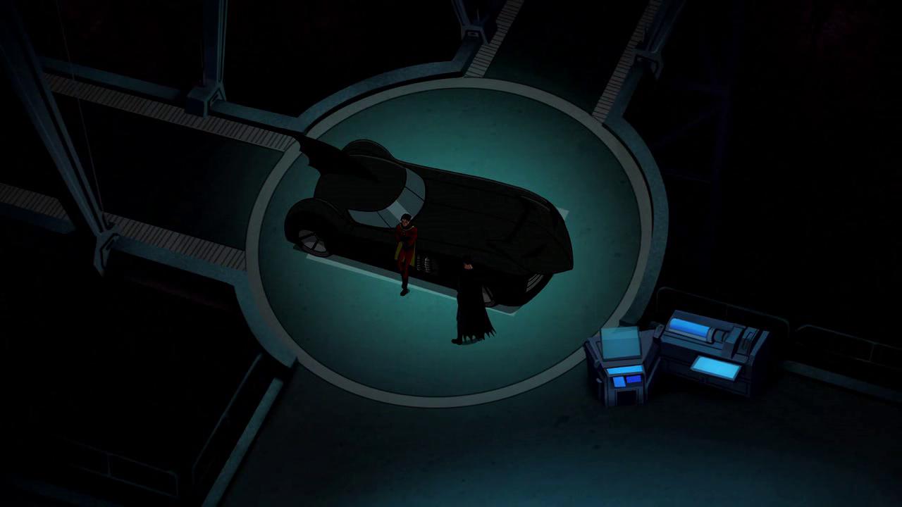 Batman: El Misterio de Capucha roja 720p BDRip