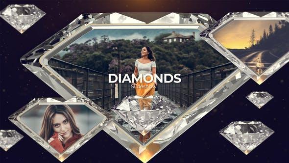 Videohive - Diamonds Slideshow - 23692471