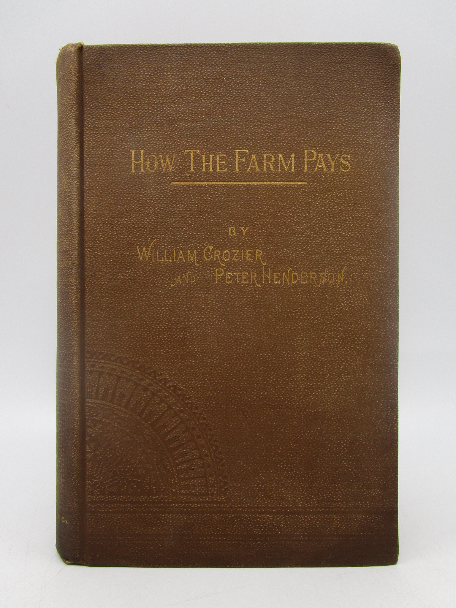 Image for How the Farm Pays: The Experiences of Forty Years of Successful Farming and Gardening (Signed First Edition)