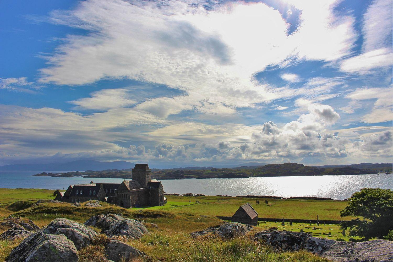 Iona Abbey, a spiritual place
