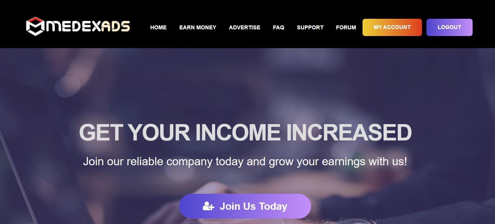 SCAM! – medexads.com Reviews Scam or Paying PTC Site?