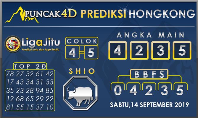 PREDIKSI TOGEL HONGKONG PUNCAK4D 14 SEPTEMBER 2019