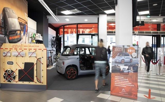 AMI - 100% Ëlectric Arrive Dans Le Réseau Citroën Ami-100-Alectric-Darty-01