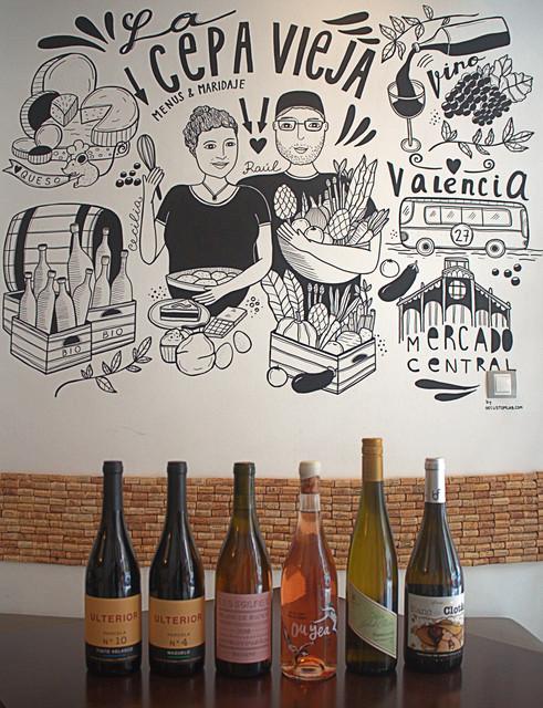 Catas de vino mensuales en Valencia La Cepa Vieja