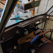 Temporary Dash Top Repair