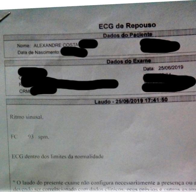 Pro Juninho não me chamar mais de mentiroso...  ECG