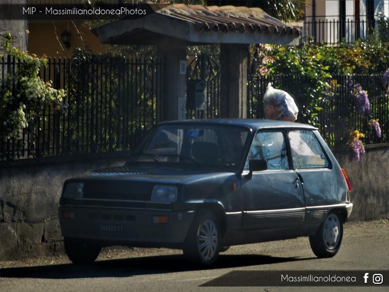 avvistamenti auto storiche - Pagina 15 Renault-5-TL-950-44cv-83-CT624222
