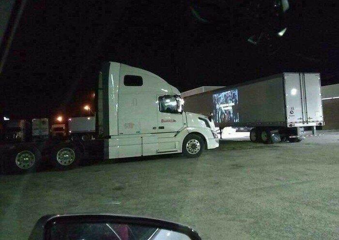 Будущее уже наступило truck, грузовики, дальнобойщики, подборка, прикол, юмор