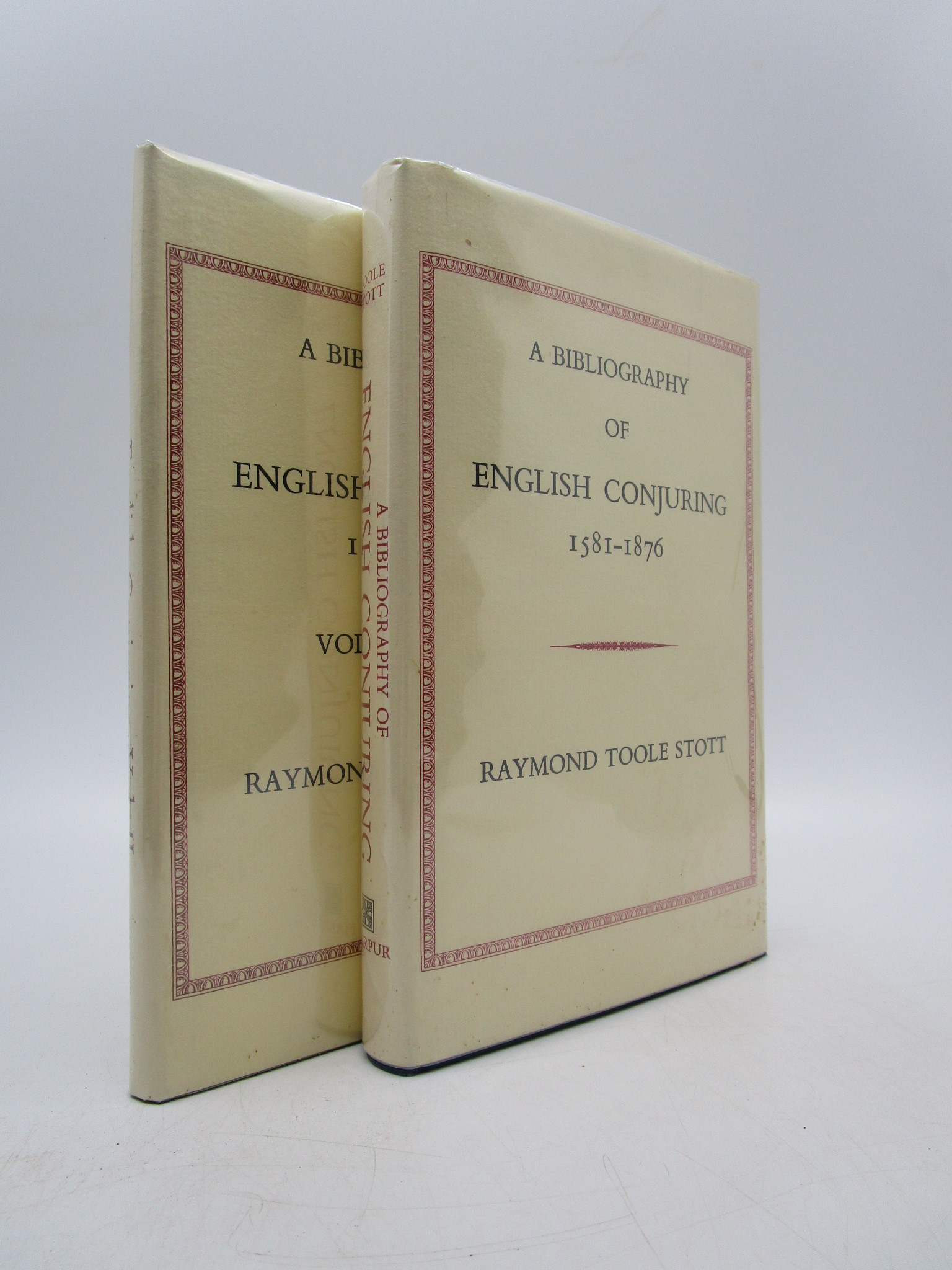 Image for A Bibliography of English Conjuring 1581-1876 Volumes One and Two (Limited Edition)
