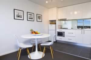 image of a serviced apartment in north sydney