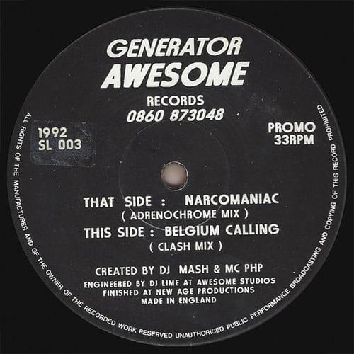 Download Generator - Narcomaniac / Belgium Calling (Remixes) mp3