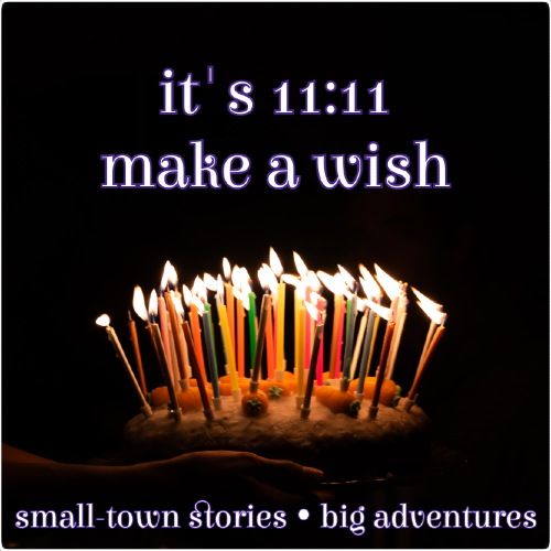 it's 11:11 - make a wish Candles2