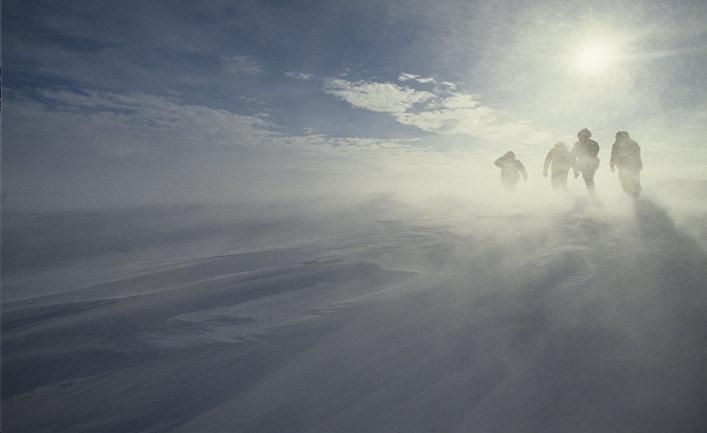 Экспедиция из Пентагона пропала в Антарктиде