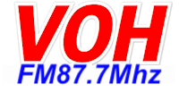 nghe đài VOH FM 87.7MHz