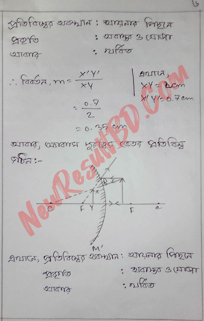 SSC Physics 8th Week Assignment 2021 Answer